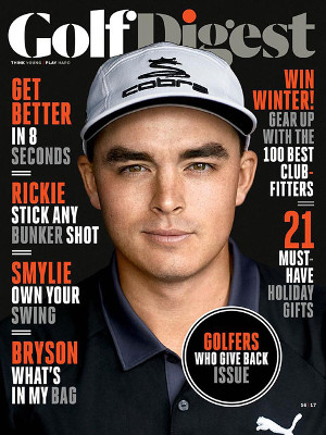Golf Digest January Cover